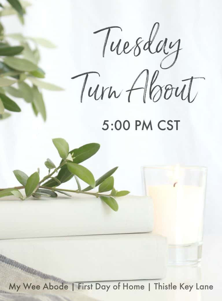 Tuesday Turnabout Link Party Feature