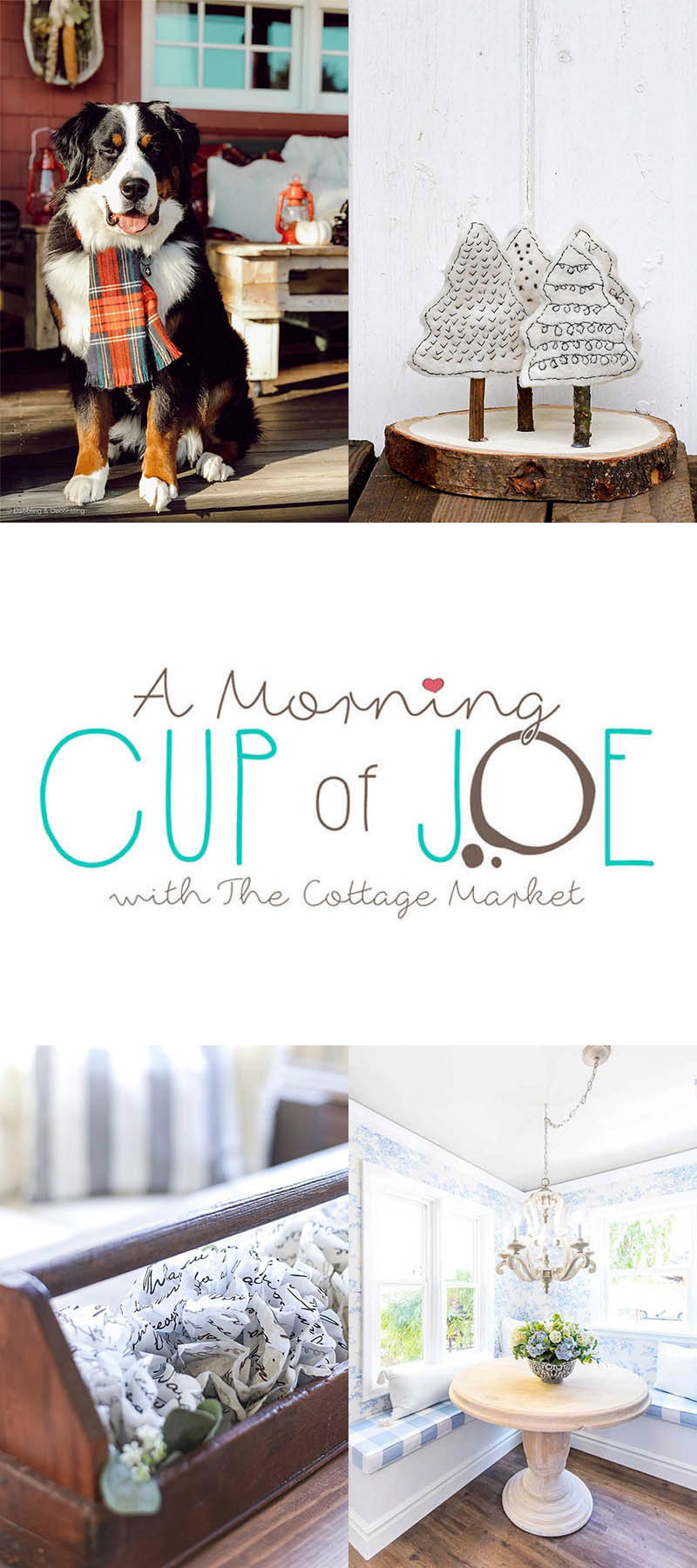 A Morning Cup of Joe Link Party Feature Button