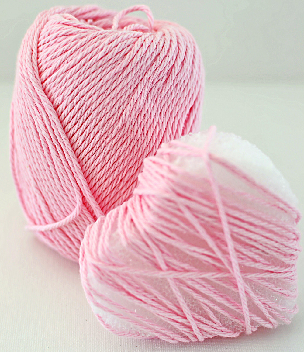 Yarn and wrapping heart.