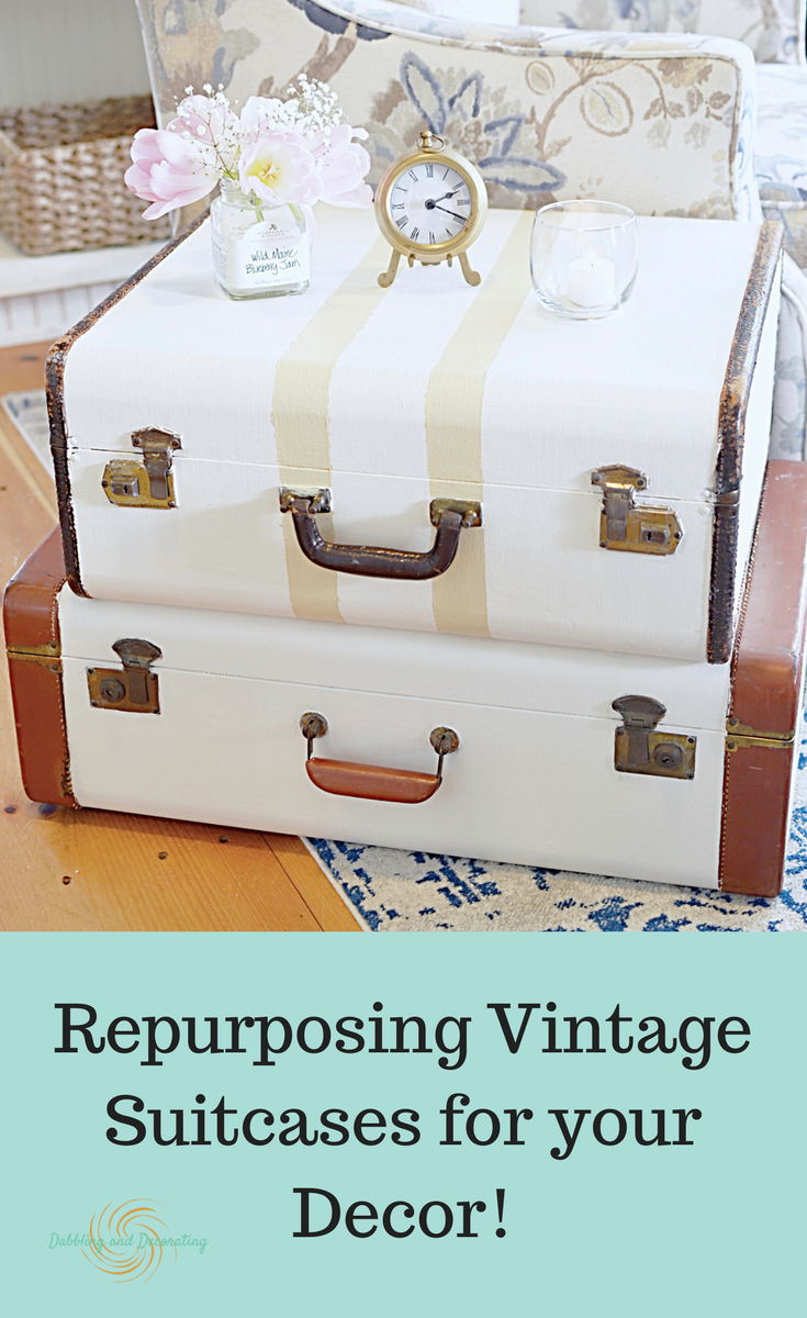 Vintage Suitcase Decor