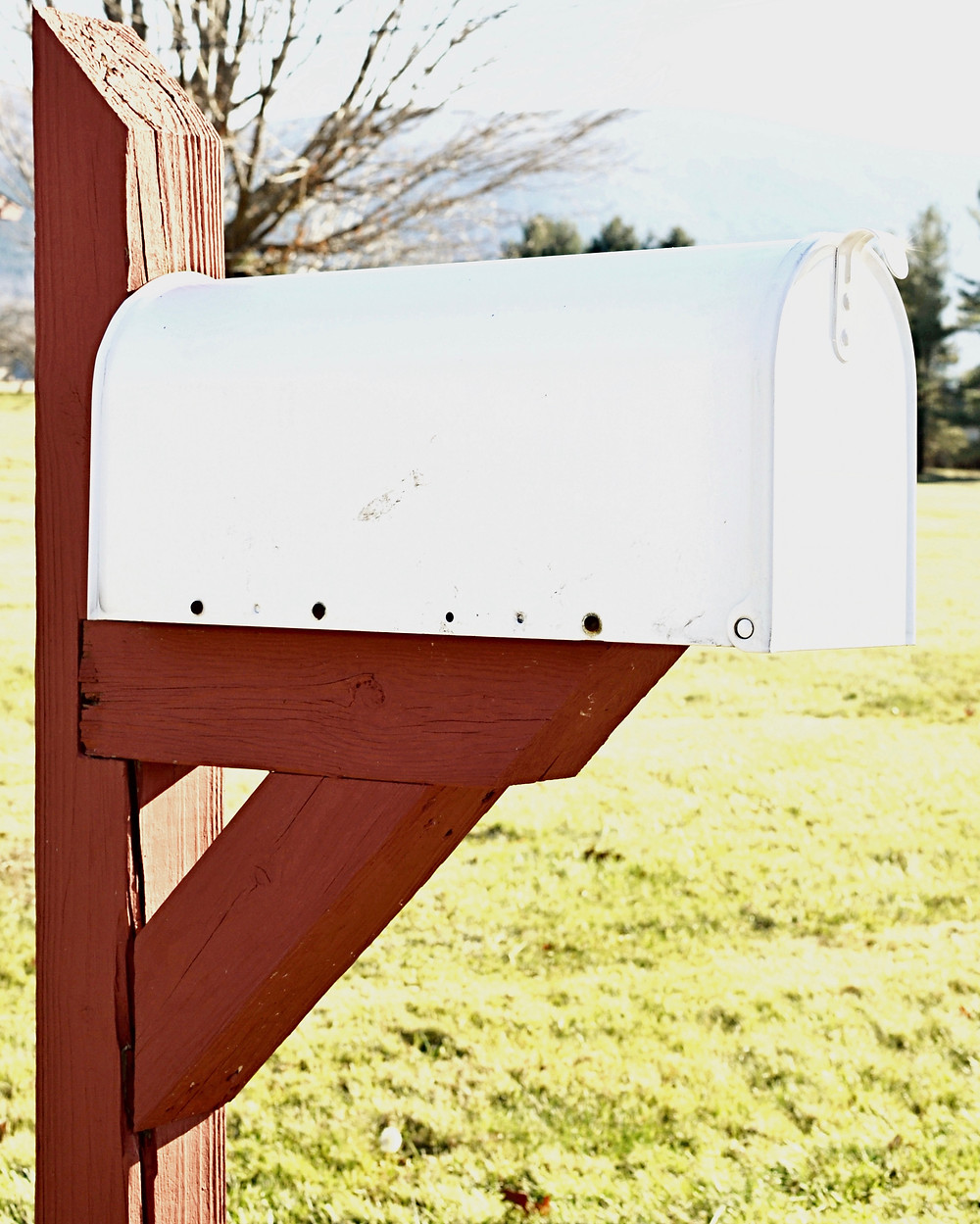 Decorating a Mailbox for the Holidays!