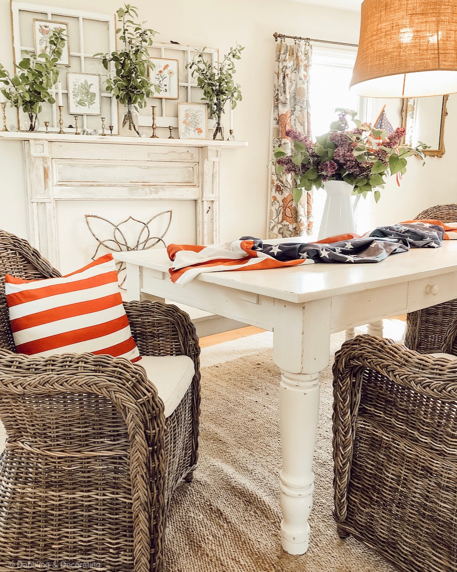 Simple Patriotic Decor Ideas