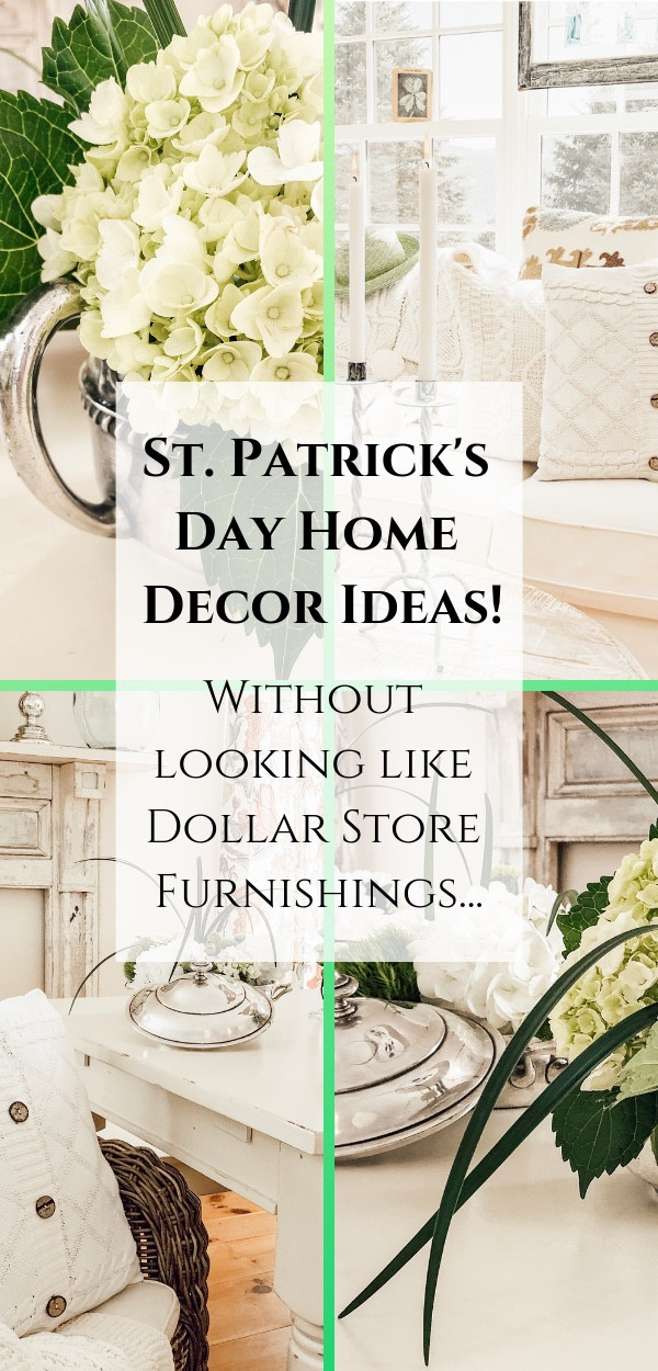 St. Patrick's Day and Spring Home Decor