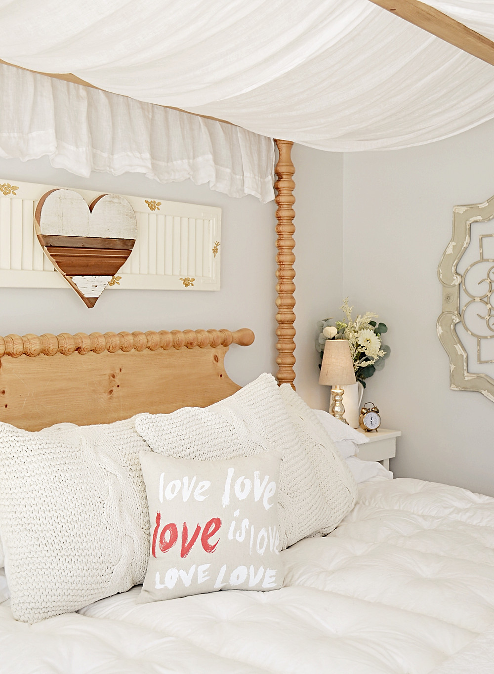 Bedroom Valentines Day Home Decorating Ideas