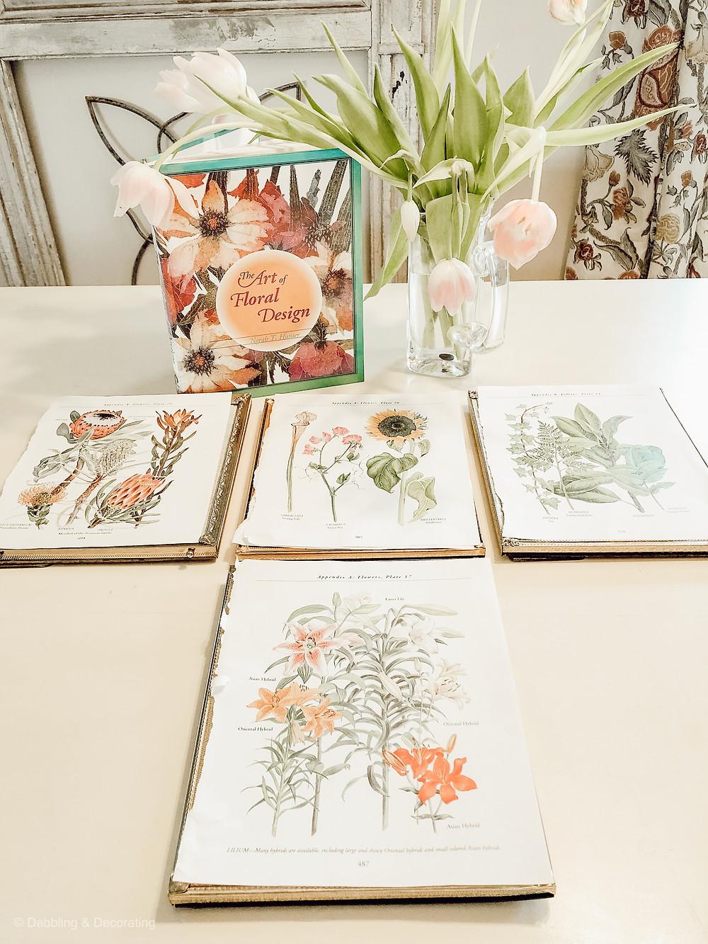 Spring Botanical Mantel