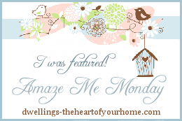 Amaze me Monday link up feature button