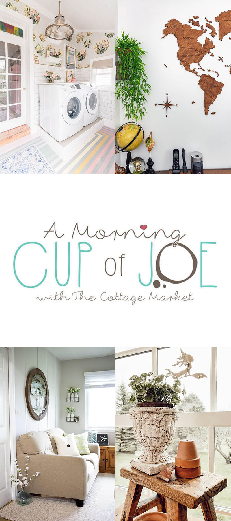 Morning Cup of Joe Feature Button Link Party