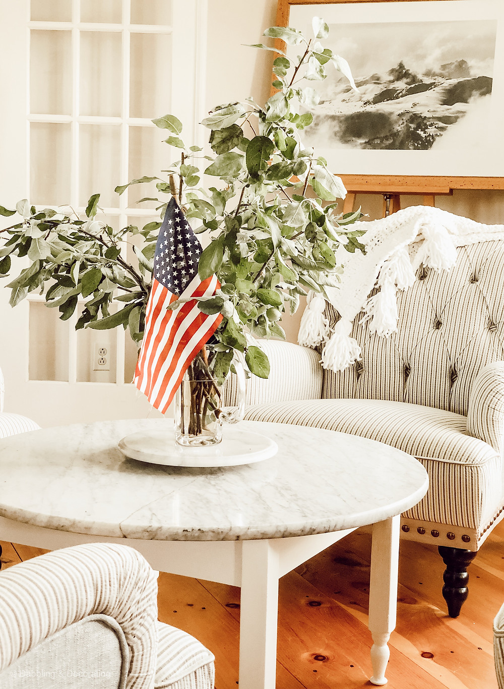 Simple Vintage Patriotic Decor