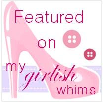 My Girlish Whim Feature Link Up Party Button
