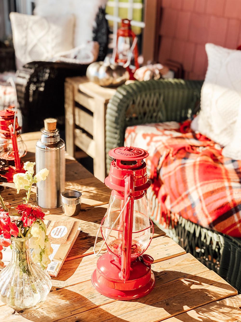 Cozy Cabin Style Vermont Porch