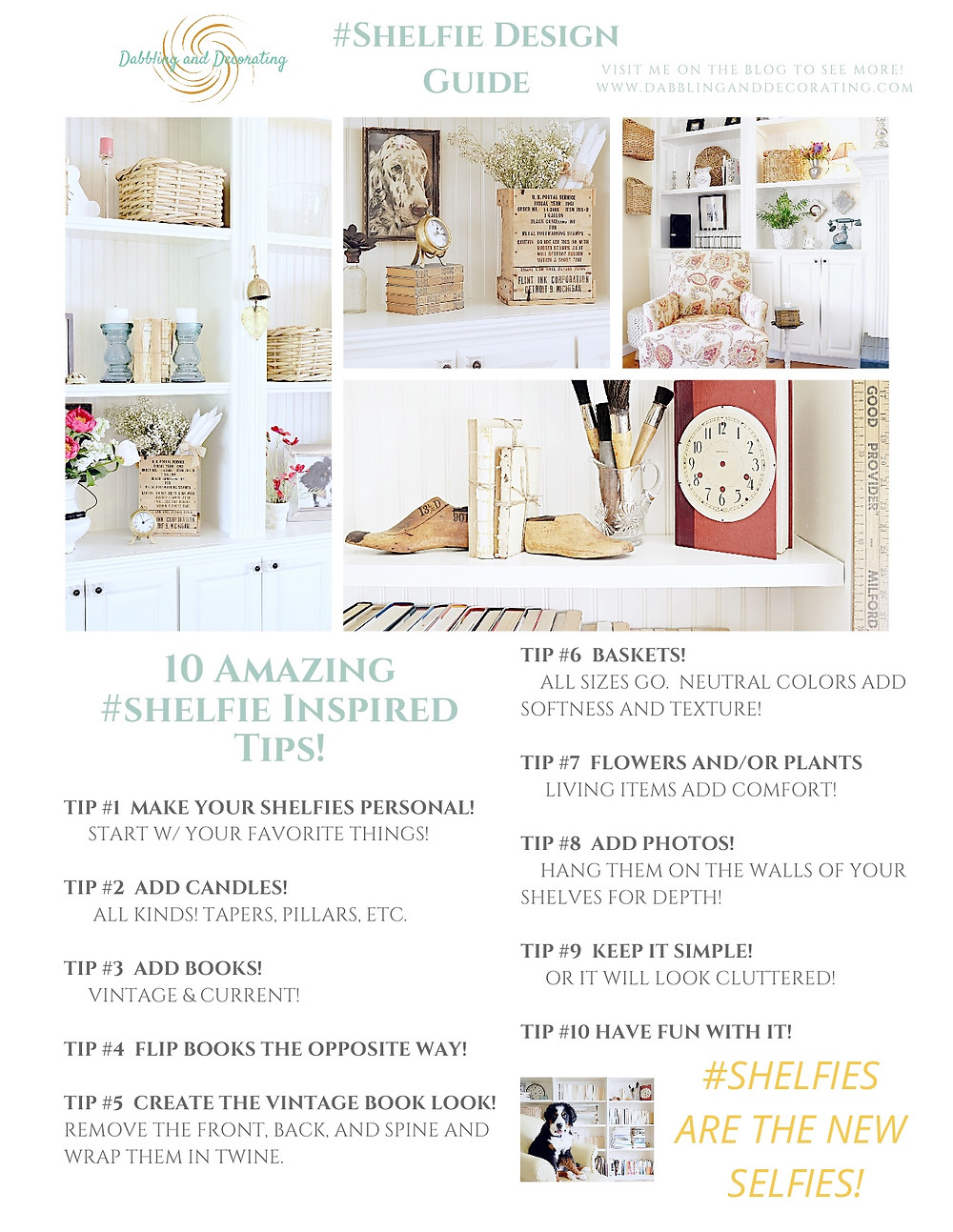 Shelfie Design Guide 10 Amazing Inspired Tips!