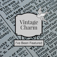 Vintage Charm Feature Button.
