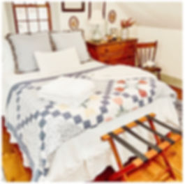 Antique Guest Bedroom Coastal Cottage.jp