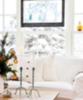 White Cozy Winter Home Decor
