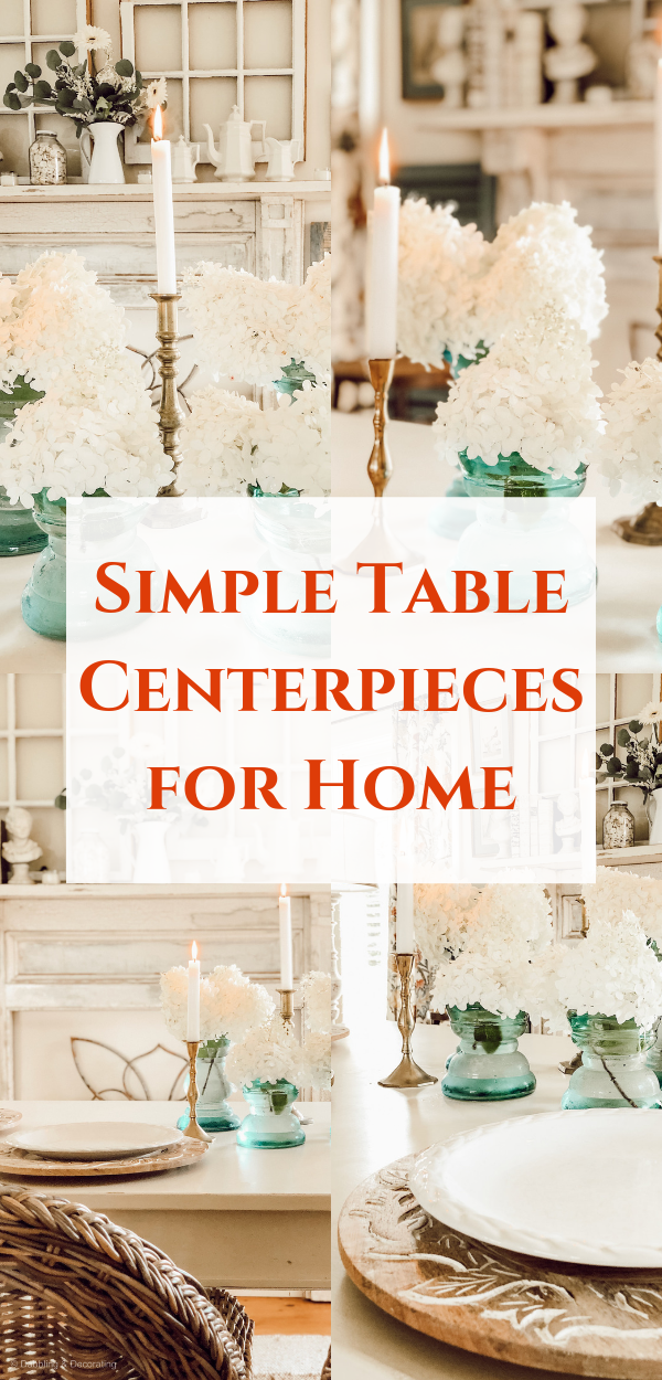Simple Table Centerpieces for Home