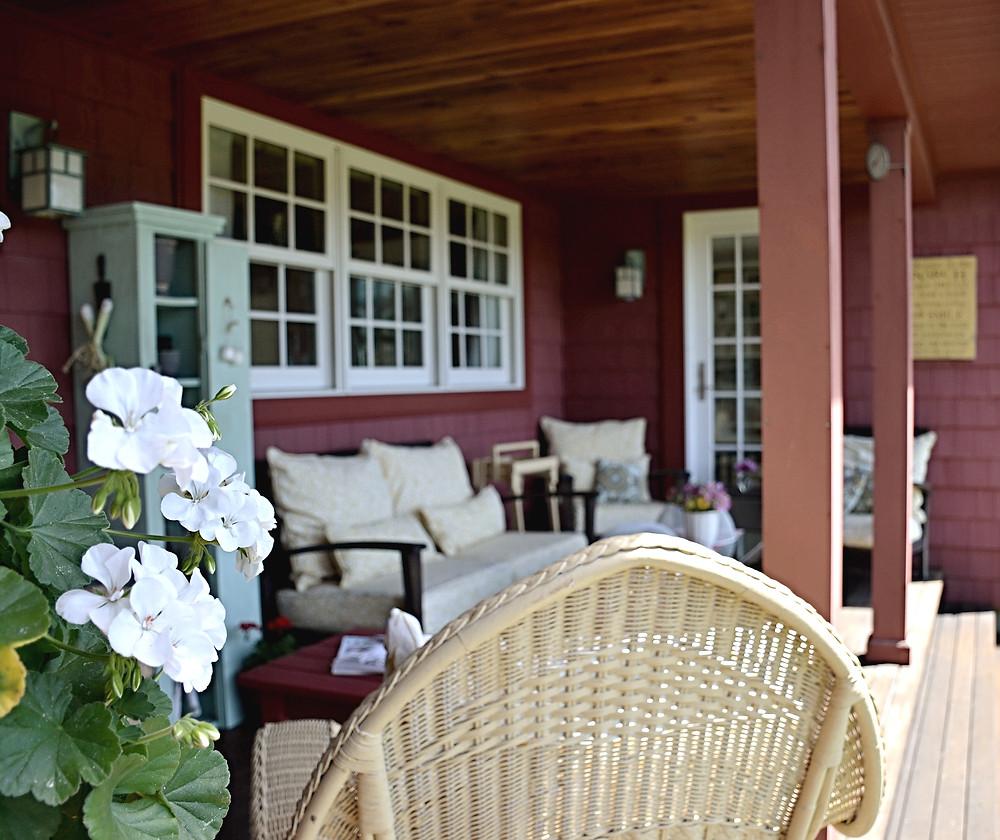 Vintage Porch Decor.