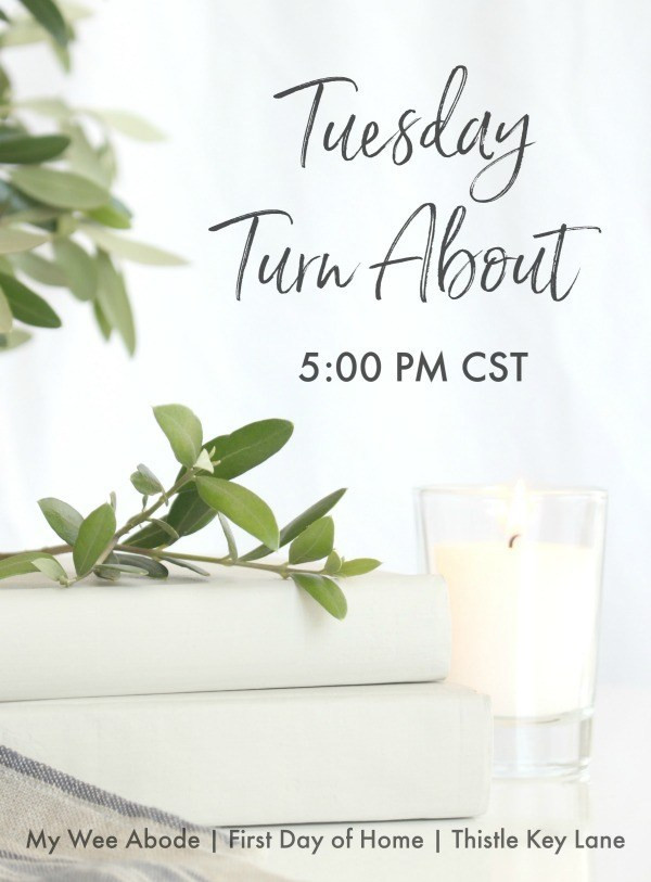 Tuesday Turn About Link Party Feature Button