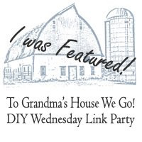 To Grandma's House We Go DIY Wednesday Link Party
