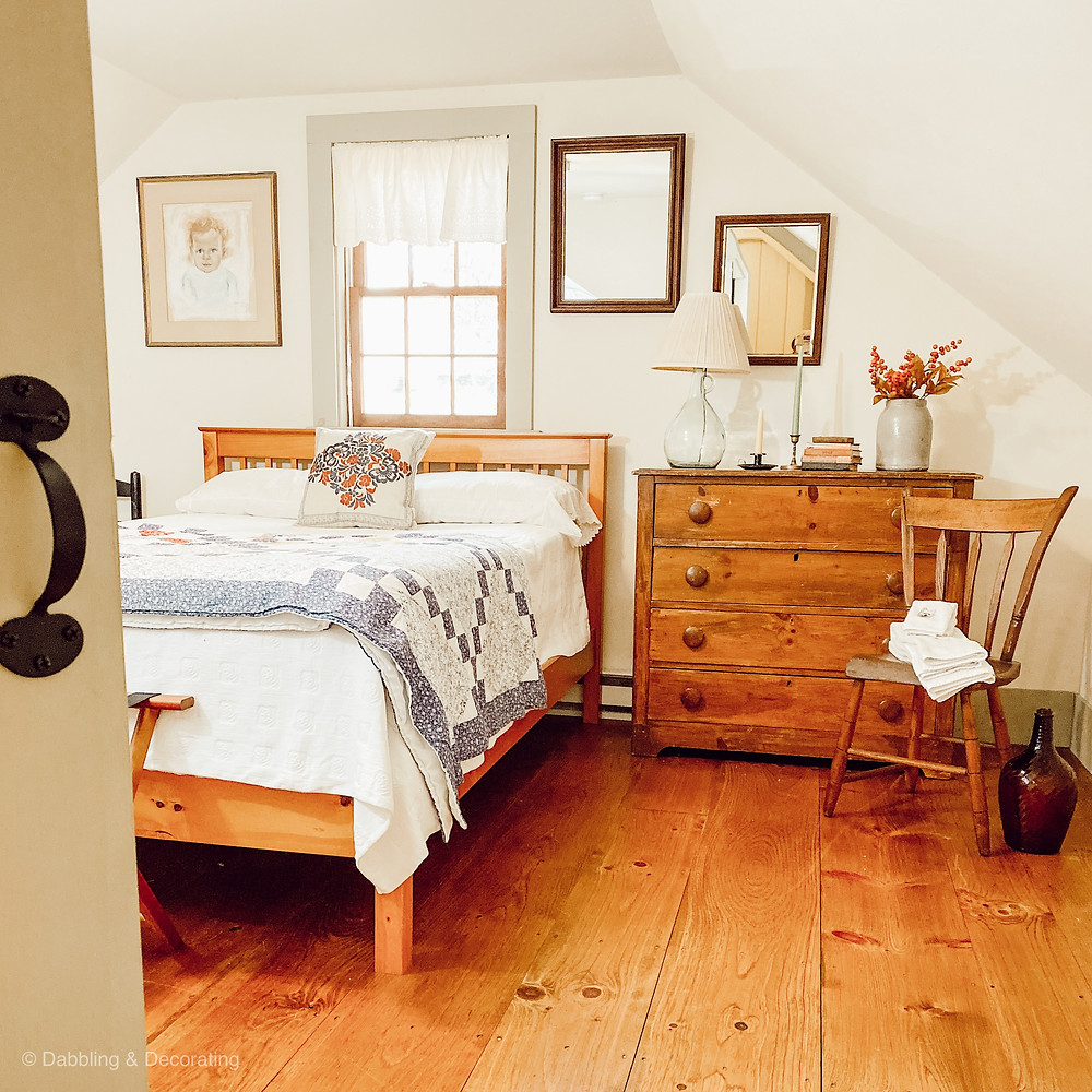 Antique Guest Bedroom