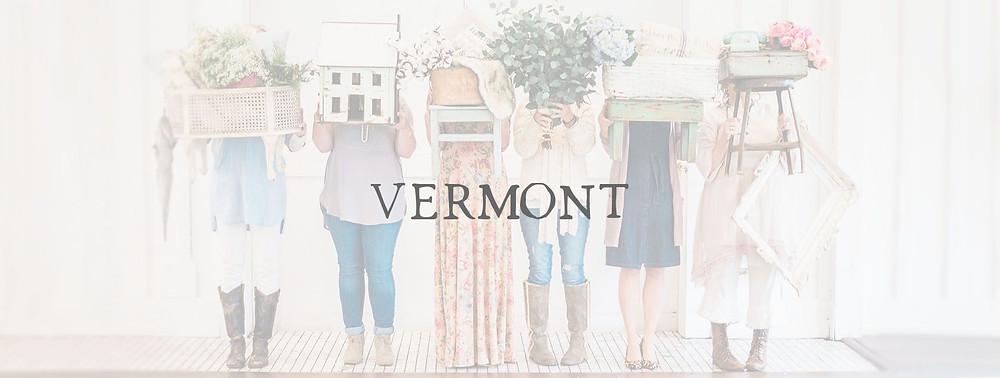 Vermont Vintage Market Days Logo
