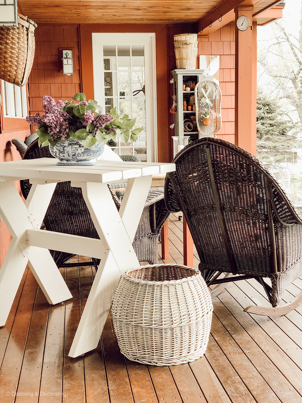 Vintage Style Front Porch