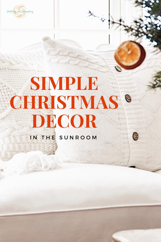 Simple Christmas Decor and Cozy Christmas Home