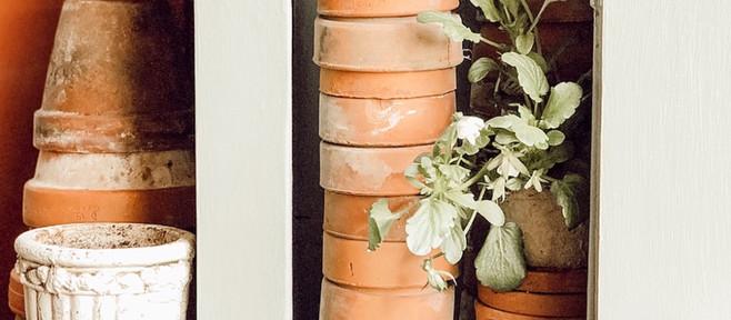 Gardener's Terracotta Cupboard