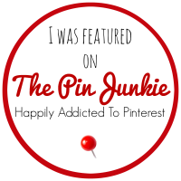 The Pink Junkie Feature Button