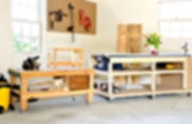 Mobile DIY Workbench and Workshop