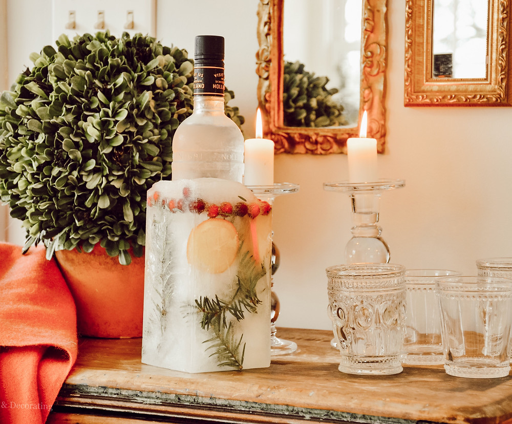 How to Create an Ice Bucket for Entertaining!