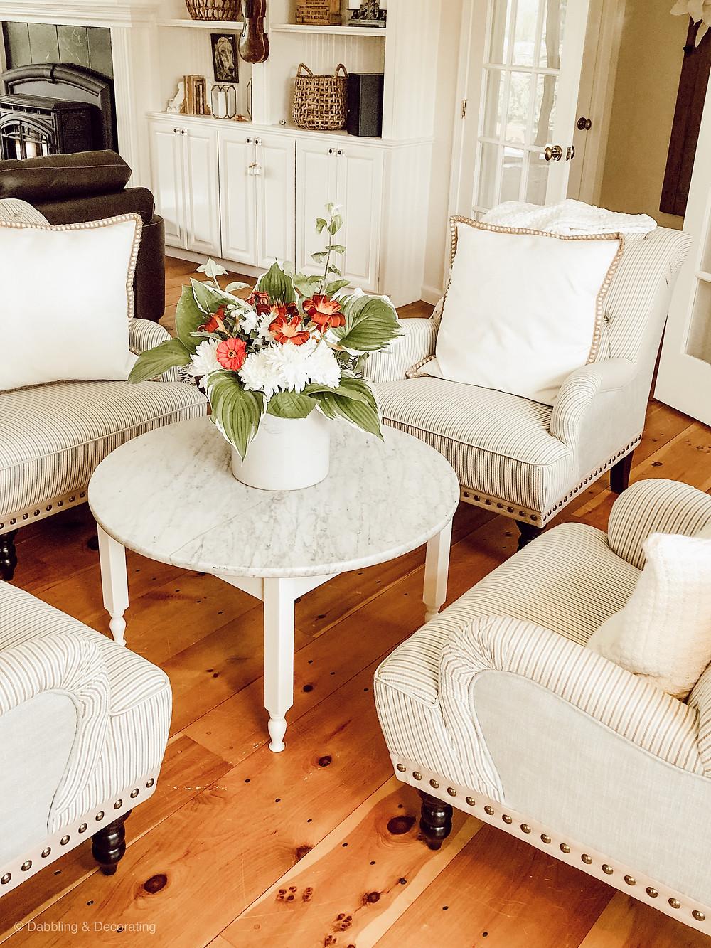 Open Floor Plan Sitting Room