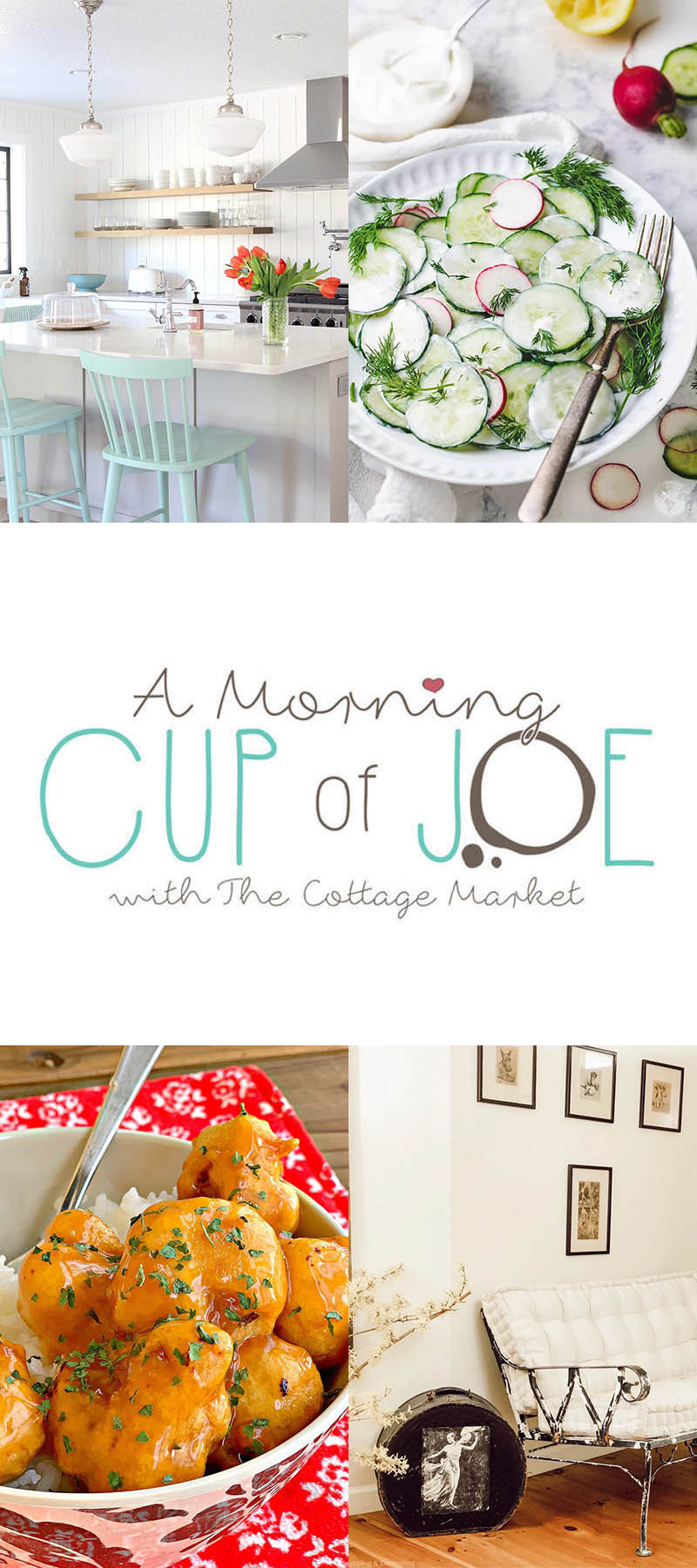 Morning Cup of Joe Link Party Feature Button