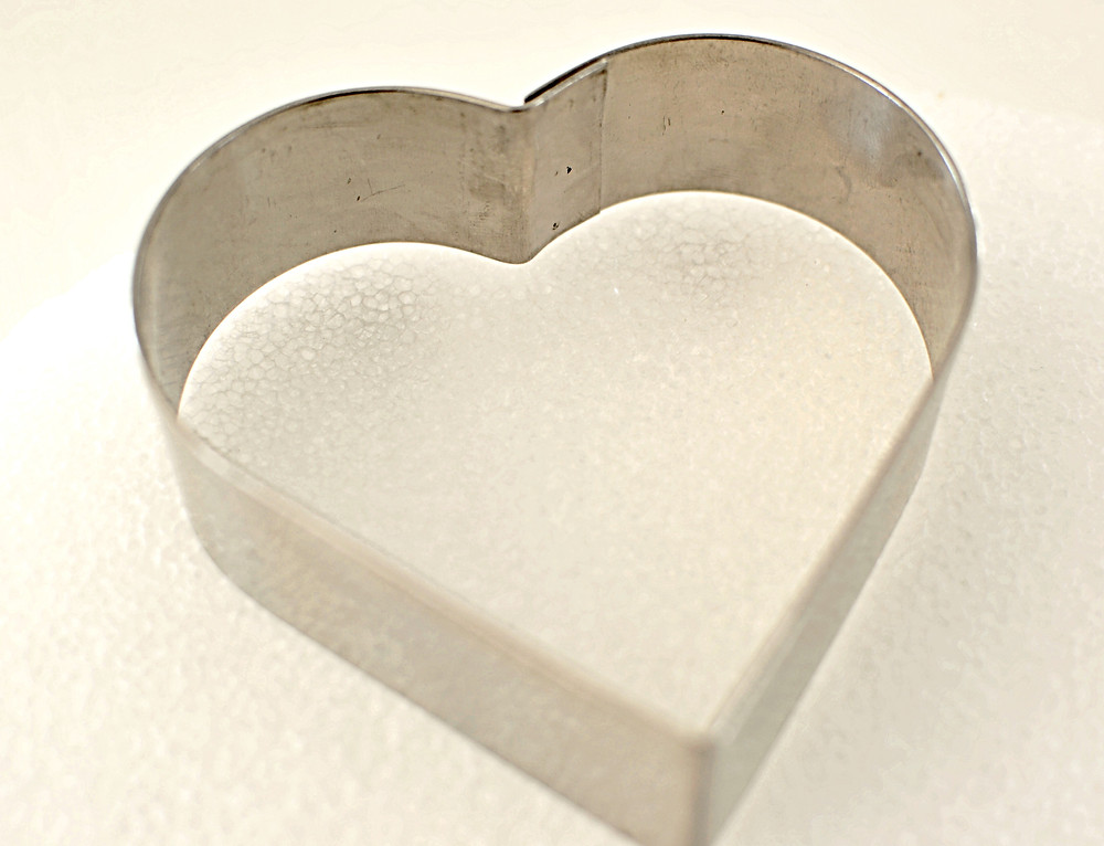 cookie cutter and styrofoam