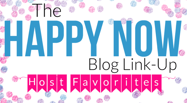 The Happy Now Blog Link Up Feature Button