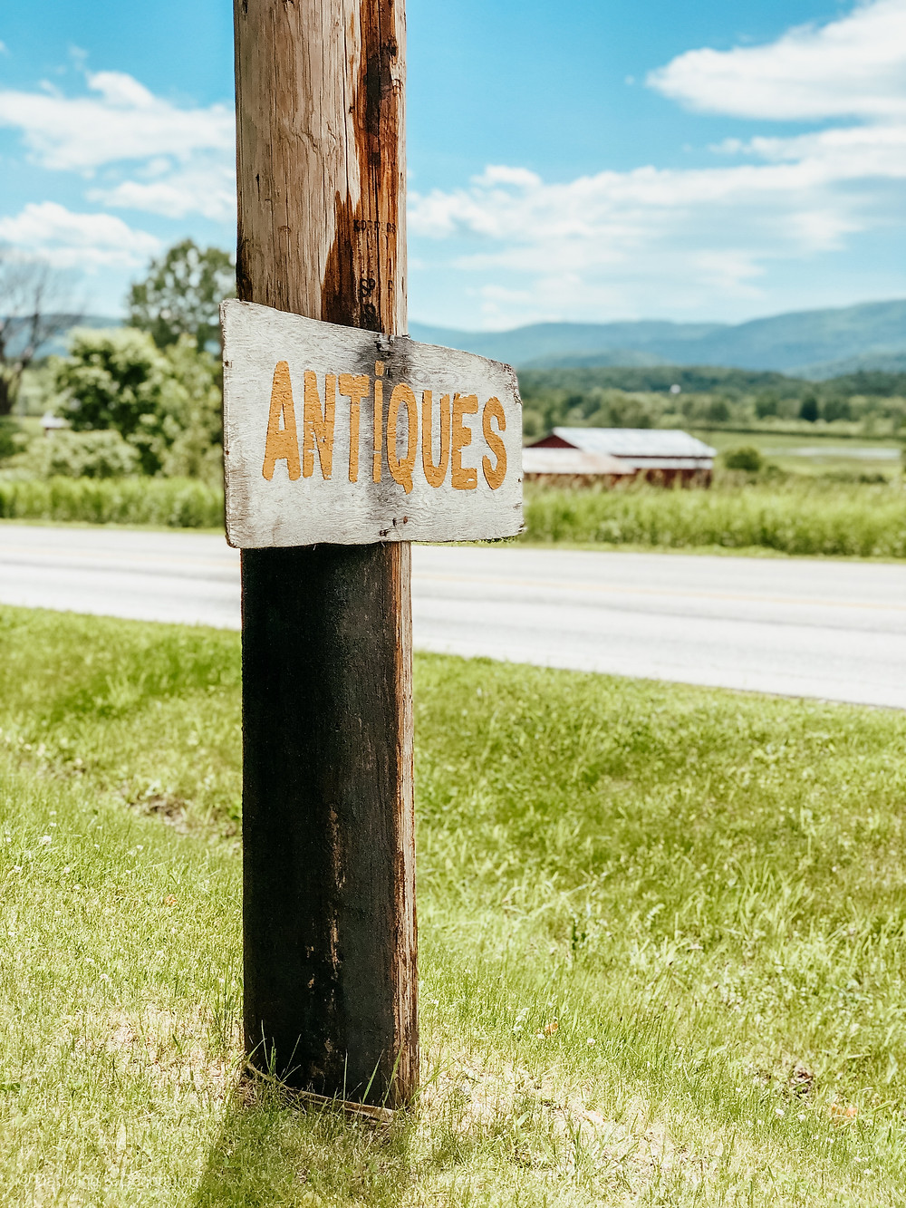 Antiquing on Route 7 Vermont