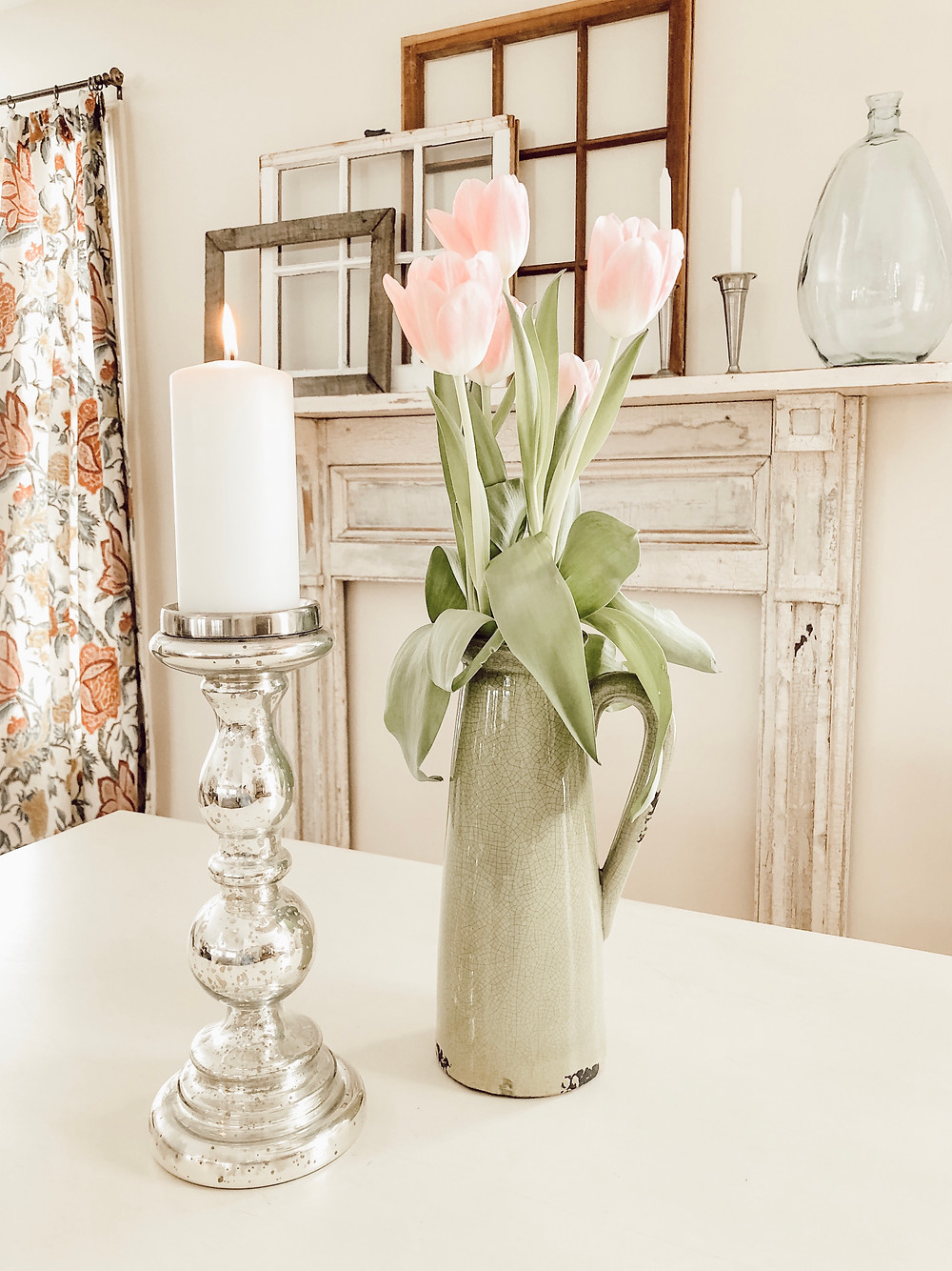 Vintage Fireplace Mantel Install and Decorating Ideas