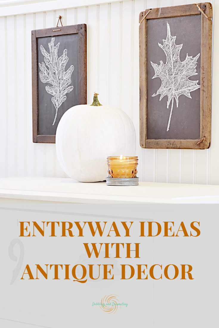 Entryway Ideas with Antique Decor.