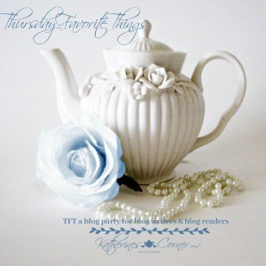 Thursdays Favorite Things Link Up Party Feature Button