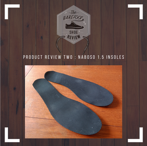 Product Review Episode 2 : Naboso Insoles