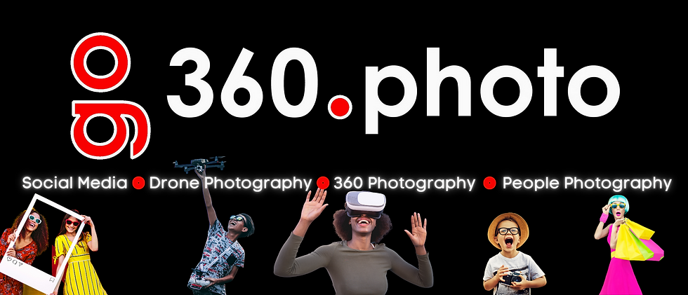 Social Media - Drone and 360 Photography