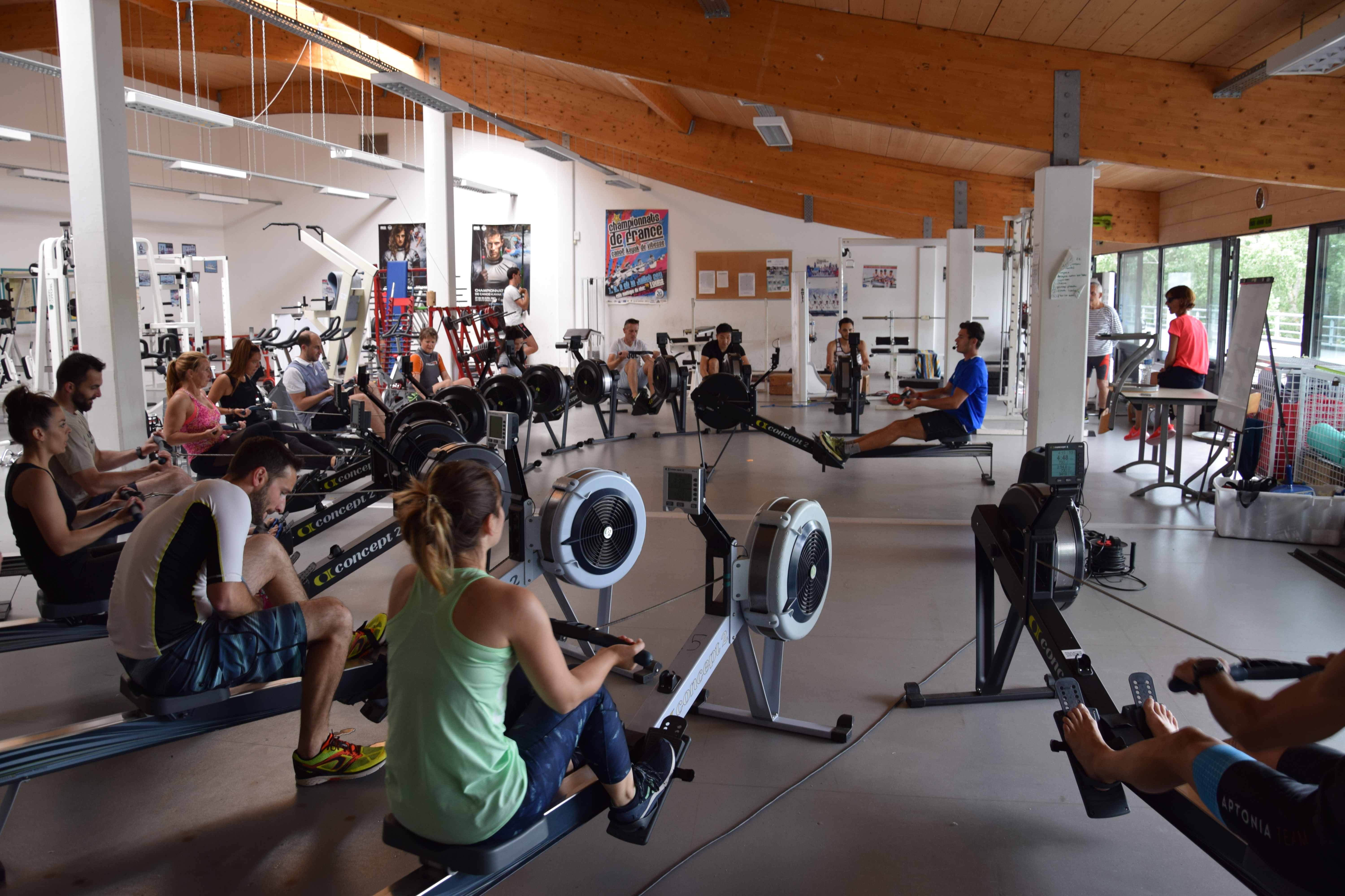 Fitness Entreprise - Row4Fit 10 pers
