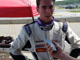 Post race interview with Dean Reller