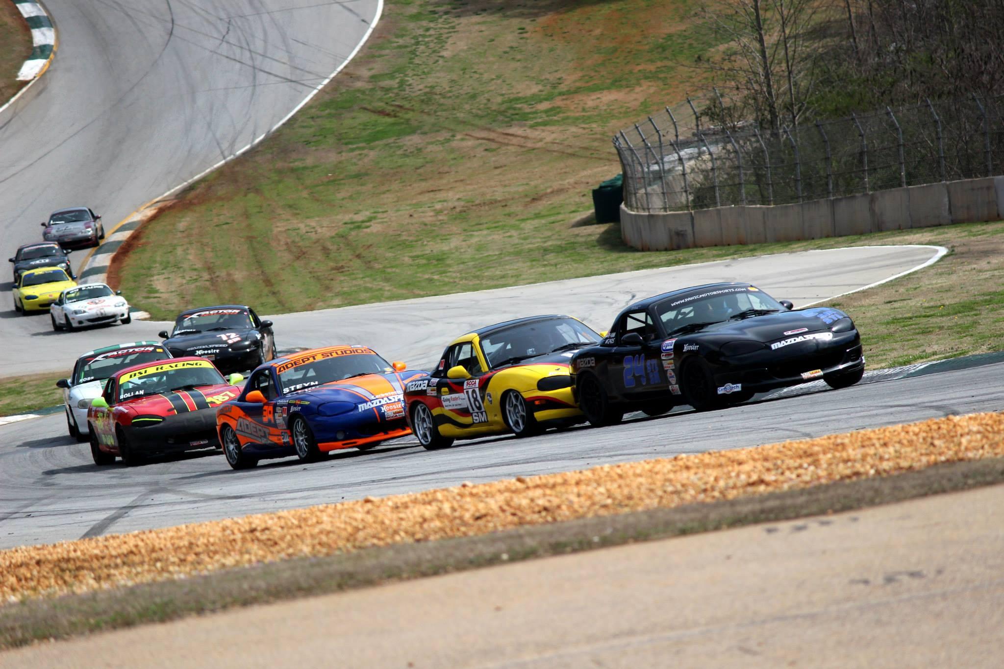 Road Atlanta USMajors 2015 SM Race