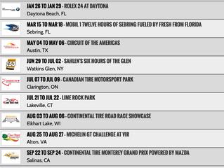 2017 CTSC Schedule