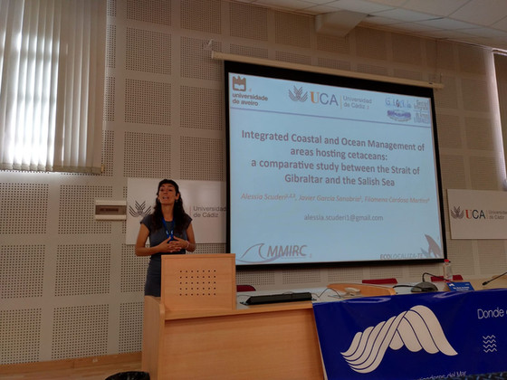 MMIRC takes part on the first Conference of the Young Researchers of the Sea