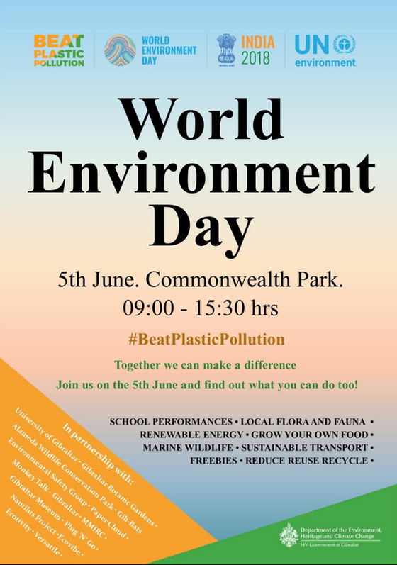LET'S HEAR IT FOR PLASTIC RESISTANCE!! Action Plan & World Environment Day