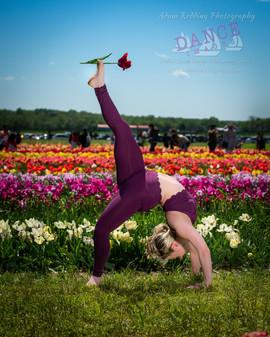 Tulip Dancer Pose