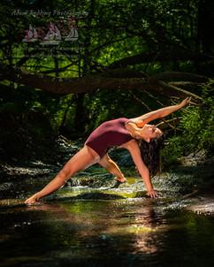 Dancer Action in Water