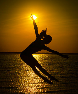 Sunset Dancer Action Image