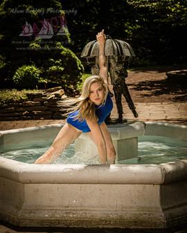 Dancer in Fountain